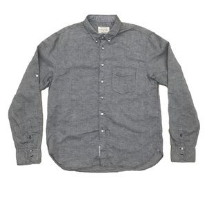 rag & bone Chambray Long Sleeve Button Down Shirt
